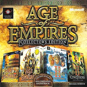 Саундтрек/Soundtrack Age of Empires Collectors Edition