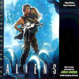 Саундтрек/Soundtrack Aliens: The Deluxe Edition