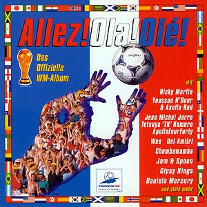 Саундтрек/Soundtrack Allez! Ola! Ole!: the Music of the World Cup