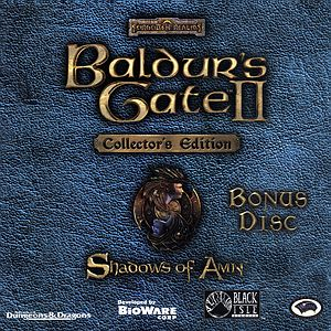 Саундтрек/Soundtrack Baldur's Gate II - Shadows of Amn | Michael Hoenig (2000) Майкл Хениг