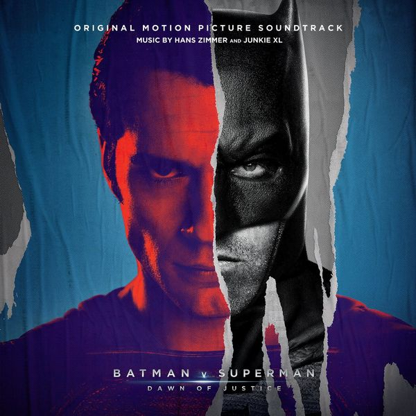Саундтрек/Soundtrack Batman v Superman: Dawn of Justice [2 CD][Deluxe Edition] | Hans Zimmer, Junkie XL (2016) Бэтмен против Супермена: На заре справедливости | Ганс Цимер