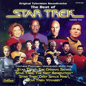 "Саундтрек/Soundtrack Best Of Star Trek Vol. 2 (1966-1969) Саундтрек | Лучшее из сериала ""Звёздный путь"" - Часть 2"
