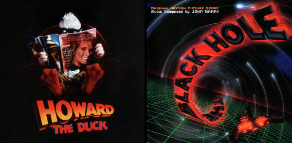 Саундтрек/Soundtrack The Black Hole, Howard the Duck | John Barry (1979) (1986) Чeрная дыра, Говард-утка | Джон Барри