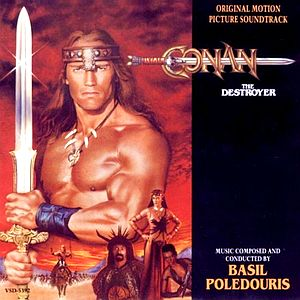 Саундтрек/Soundtrack Conan The Destroyer