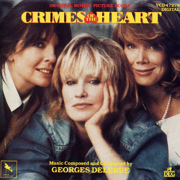 Саундтрек/Soundtrack Преступления сердца | Georges Delerue (1986) Crimes of the Heart