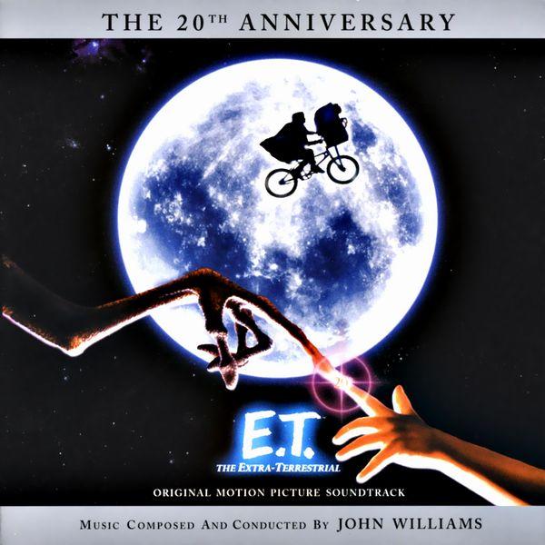 Саундтрек/Soundtrack E.T. the Extra-Terrestrial (+Bonus: E.T. Storybook Album) | John Williams, Michael Jackson (1982) Инопланетянин | Джон Уильямс, Майкл Джексон