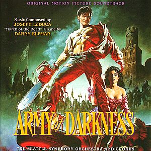 Саундтрек/Soundtrack Evil Dead 3: Army of Darkness
