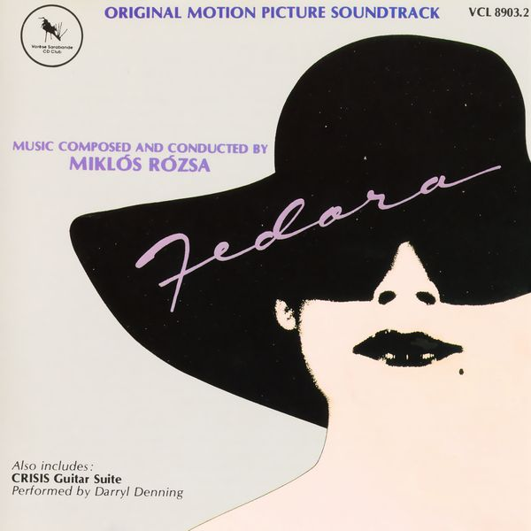 Саундтрек/Soundtrack Fedora | Miklos Rozsa (1978) Федора | Миклош Рожа