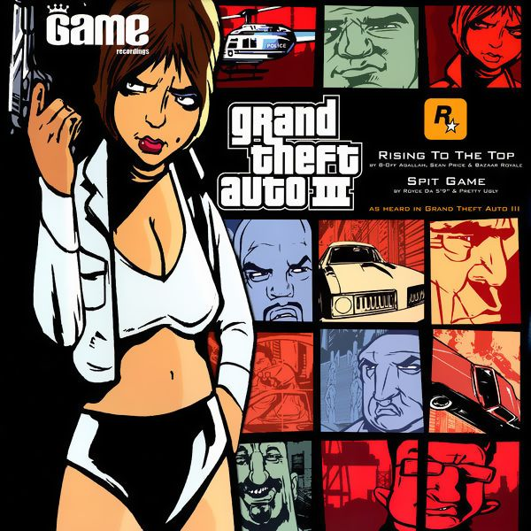 Саундтрек/Soundtrack Grand Theft Auto 3 (GTA III) (GTA 3)