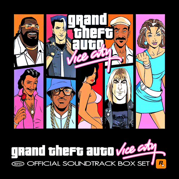Саундтрек/Soundtrack Soundtrack | Grand Theft Auto: Vice City [7 CD Box Set] | Various Artists (2002