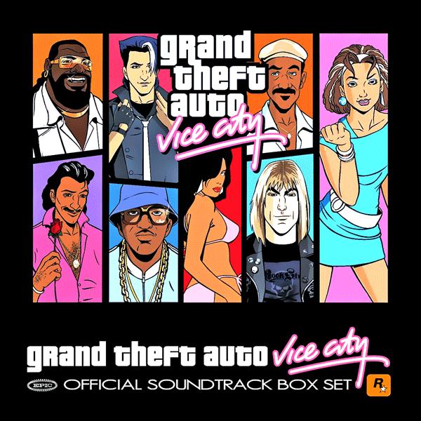 Саундтрек/Soundtrack Soundtrack | Grand Theft Auto: Vice City [7 CD Box Set] | Various Artists (2002