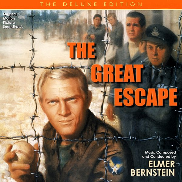 Саундтрек/Soundtrack Great Escape, The [Deluxe Edition] | Elmer Bernstein (1963) Большой побег [Deluxe Edition] | Элмер Бернстайн