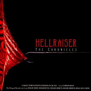 Саундтрек/Soundtrack Soundtrack | Hellraiser - The Chronicles digipak (Hellraiser, Hellbound: Hellraiser 2, Hellraiser 3: Hell On Earth) | Christopher Young (2003) Восставший из ада - Хроники (Восставший из ада, Восставший из ада 2, Восставший из ада 3: Ад на земле) | Кристофер Янг