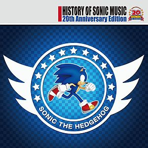 Саундтрек/Soundtrack History of Sonic Music 20th Anniversary Edition (2011)