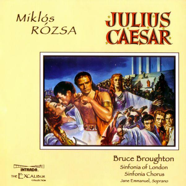 Саундтрек/Soundtrack Julius Caesar | Miklos Rozsa (Miklós Rózsa) (1953) Юлий Цезарь | Миклош Рожа