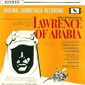Саундтрек/Soundtrack Lawrence of Arabia
