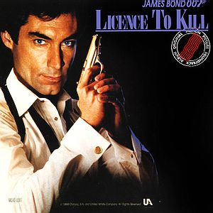 Саундтрек/Soundtrack Licence to Kill (James Bond 007) Лицензия на убийство