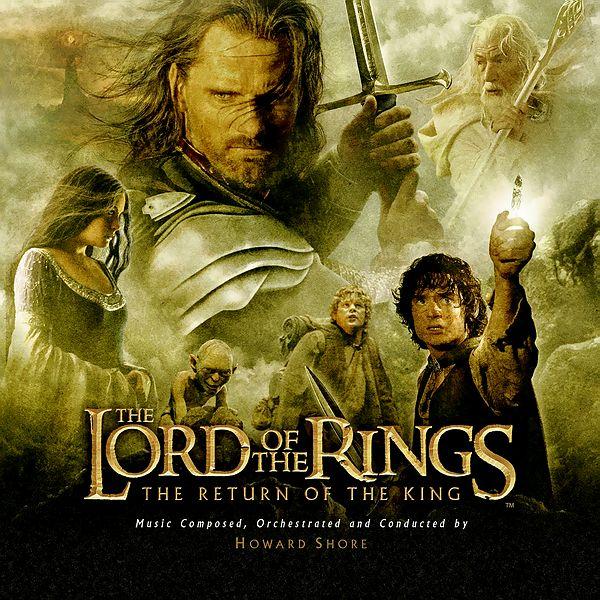 Саундтрек/Soundtrack Lord Of The Rings, The - The Return Of The King | Howard Shore (2003) Властелин колец: Возвращение короля | Говард Шор