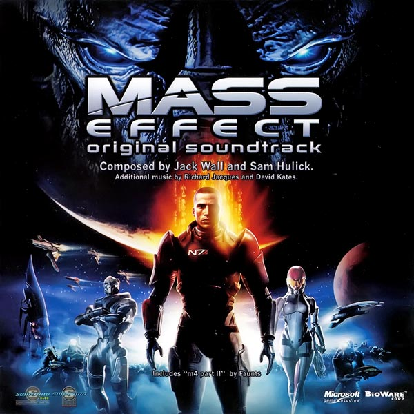 Саундтрек/Soundtrack Mass Effect | Jack Wall, Sam Hulick, Richard Jacques, David Kates (2007) Джек Уолл, Сэм Хьюлик, Дэвид Кейтс, Ричард Жак