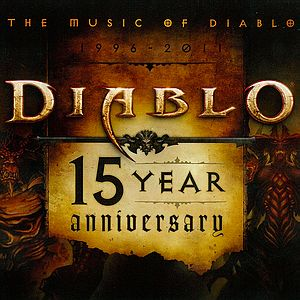 Саундтрек/Soundtrack Music of Diablo, The 1996 - 2011: Diablo 15 Year Anniversary | Matt Uelmen (1996, 2011