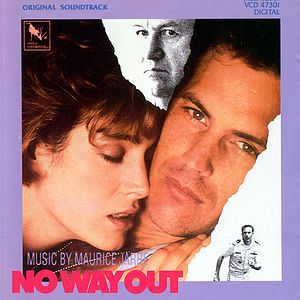 Саундтрек/Soundtrack No Way Out | Maurice Jarre (1987) Выхода нет | Морис Жар