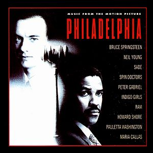 Саундтрек/Soundtrack Philadelphia  (1993) Филадельфия