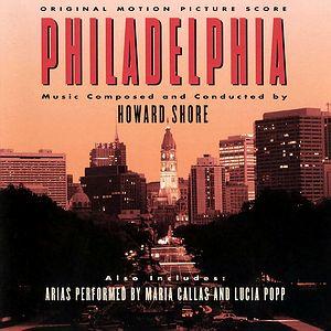 Саундтрек/Soundtrack Philadelphia | Howard Shore (1993) Филадельфия | Говард Шор