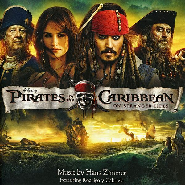 Саундтрек/Soundtrack Pirates of the Caribbean: On Stranger Tides | Hans Zimmer (2011) Пираты Карибского моря: На странных берегах | Ганс Цимер