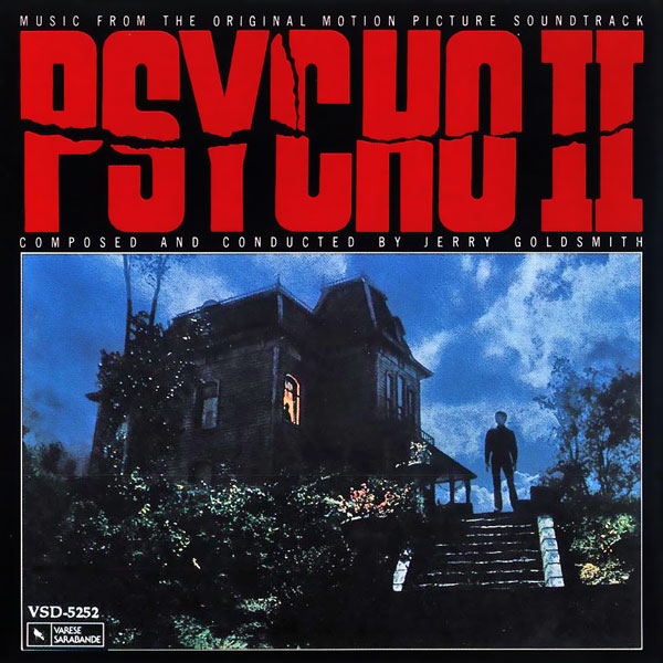 Саундтрек/Soundtrack Psycho II | Jerry Goldsmith (1983) Психо 2 | Джерри Голдсмит