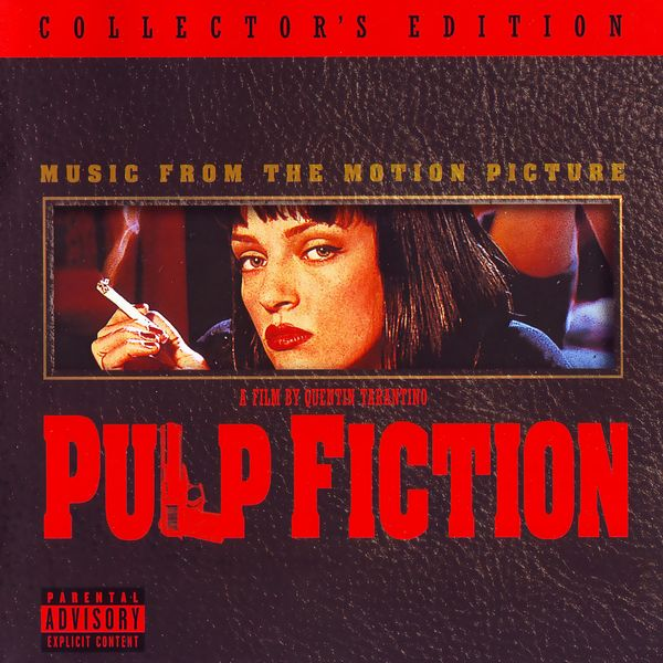 Саундтрек/Soundtrack Pulp Fiction | Various Artists (1994) Криминальное чтиво | Разные исполнители