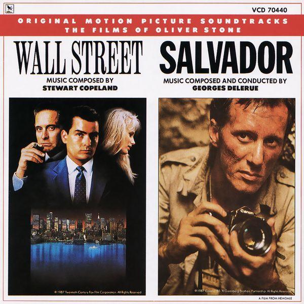 Саундтрек/Soundtrack Salvador, Wall Street | Georges Delerue, Stewart Copeland (1986) (1987) Сальвадор, Уолл Стрит | Жорж Делерю, Стюарт Коупленд