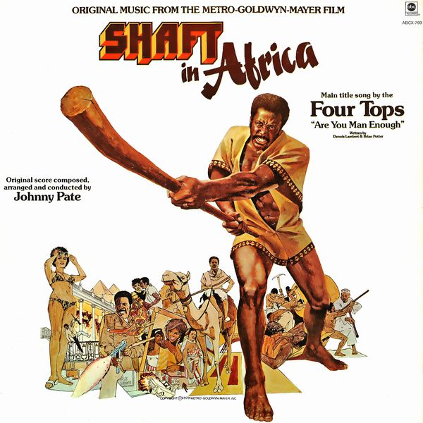Саундтрек/Soundtrack Soundtrack | Shaft in Africa | Johnny Pate (1973)