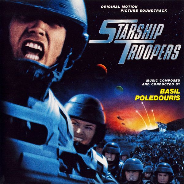 Саундтрек/Soundtrack Starship Troopers | Basil Poledouris (1997) Звездный десант | Бэзил Поледурис