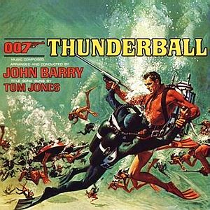 Саундтрек/Soundtrack Thunderball (James Bond 007) (1965) Шаровая молния