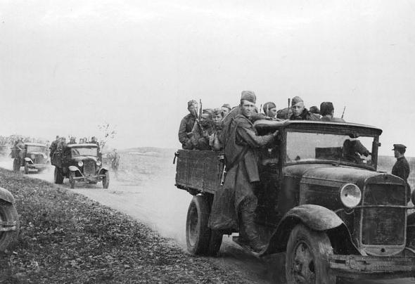 1941 год в черно-белых фотографиях