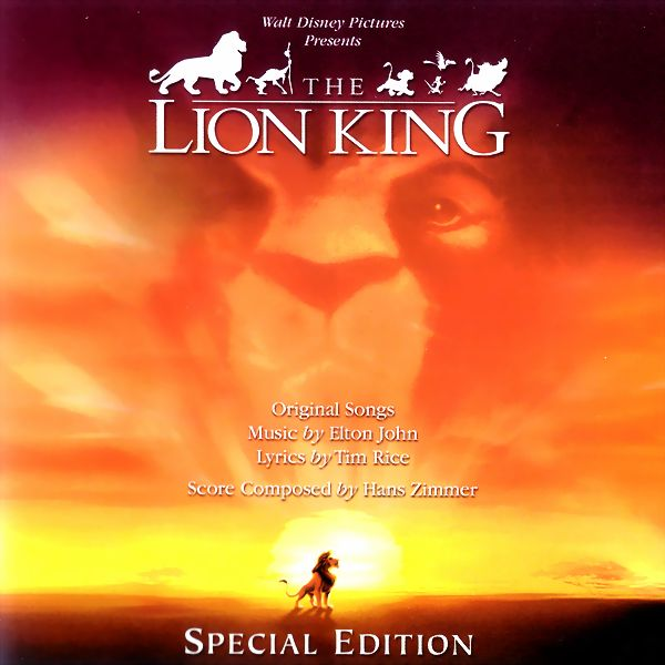 Саундтрек/Soundtrack The Lion King: Special Edition
