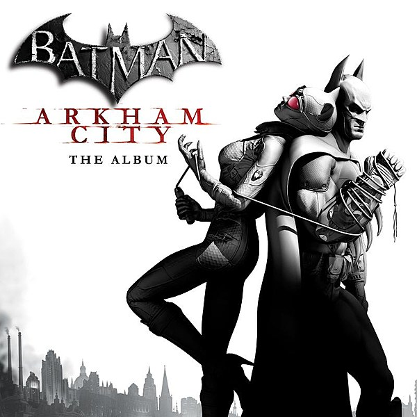 Саундтрек/Soundtrack Batman: Arkham City  (2011)  Бэтмен: Аркхем сити