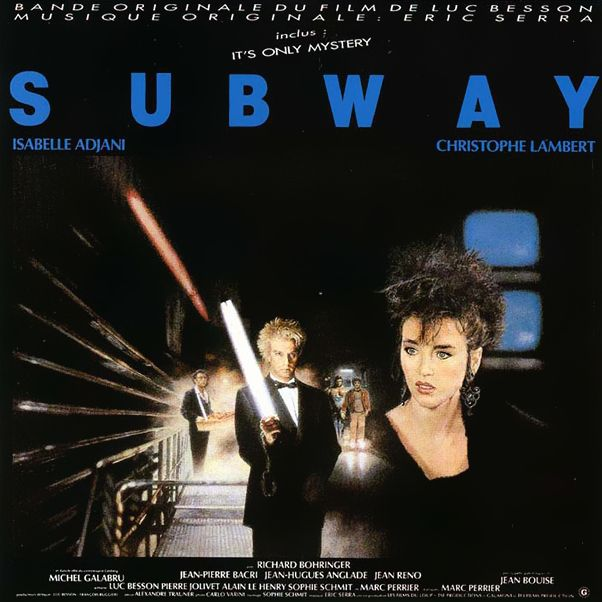 Саундтрек/Soundtrack Subway | Eric Serra (1985) Подземка | Эрик Серра