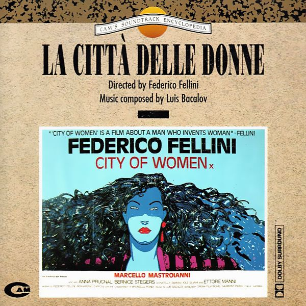 Саундтрек/Soundtrack La città delle donne (City of Women) | Luis Bacalov (1980) Город женщин | Луис Бакалов