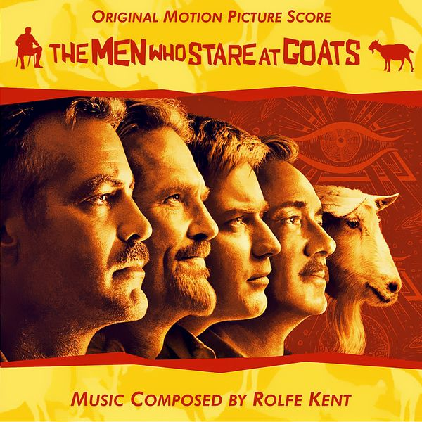 Саундтрек/Soundtrack Soundtrack | The Men Who Stare at Goats (+Bonus) | Rolfe Kent (2009) Безумный спецназ | Ролф Кент