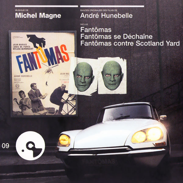 Саундтрек/Soundtrack Soundtrack | Trilogie Fantômas: Fantômas [Fantomas ] (1964), Fantômas Se Déchaîne [Fantomas Unleashed] (1965), Fantômas Contre Scotland Yard [Fantomas vs. Scotland Yard] (1967) | Michel Magne  Фантомас (), Фантомас разбушевался (), Фантомас против Скотланд-Ярда (