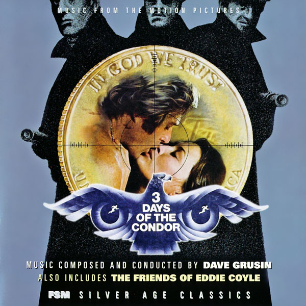 Three Days Of The Condor/The Friends Of Eddie Doyle   Dave Grusin (1973, 1975)