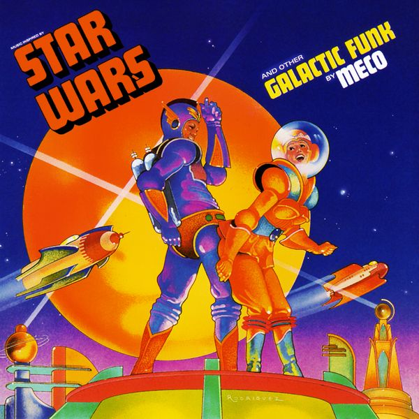 Саундтрек/Soundtrack Star Wars and Other Galactic Funk | Meco (1977)